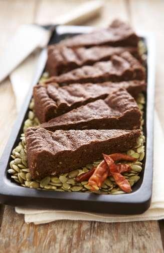 Chocolate Cayenne Shortbread